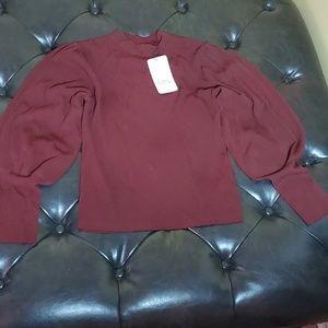 Zara Brown Womens Sweater Sz large